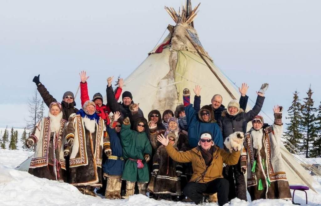 Туристы на Ямале