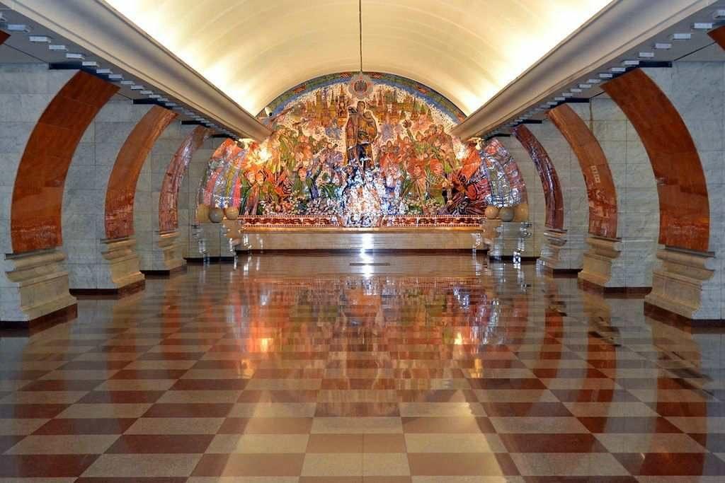 Станция Парк Победы в Москве