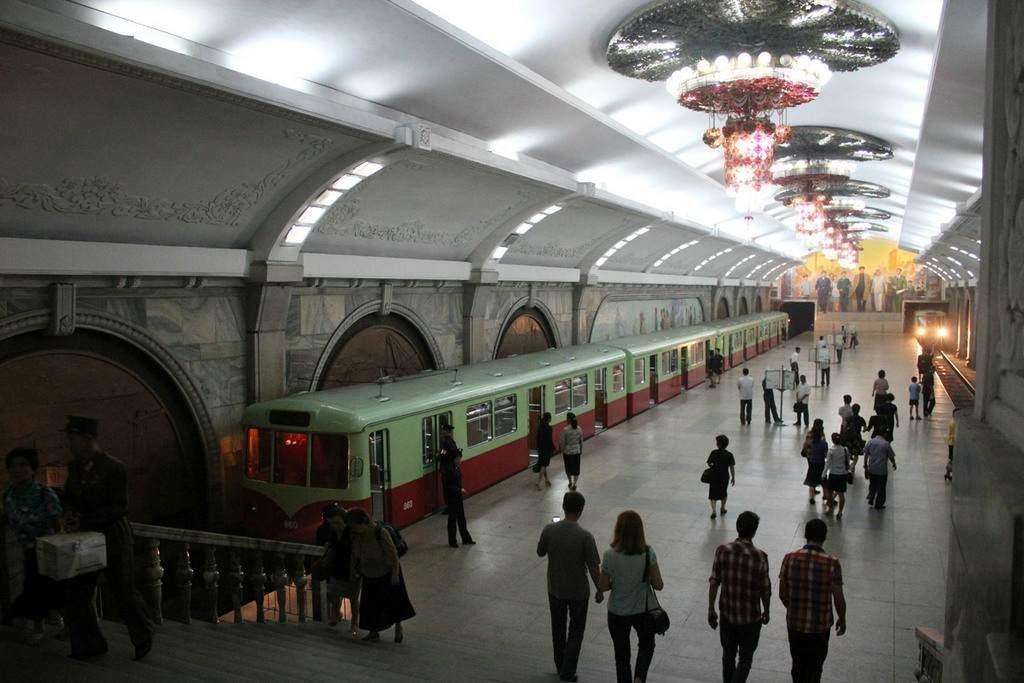 Станция Пухын в Пхеньяне