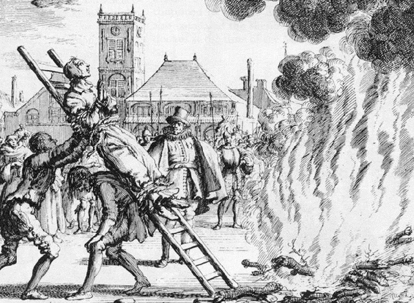 Сжигание на костре