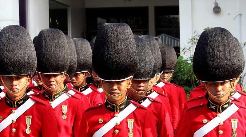 Веселые войска Таиланда
