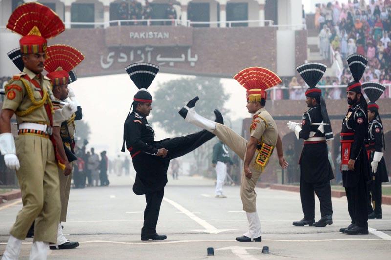 парадная военная форма Индия и Пакистан