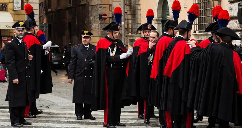Парадная военная форма Италия