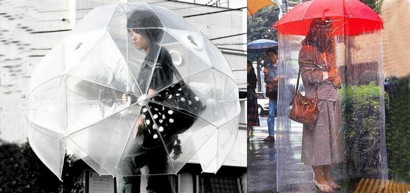 Зонт для всего тела