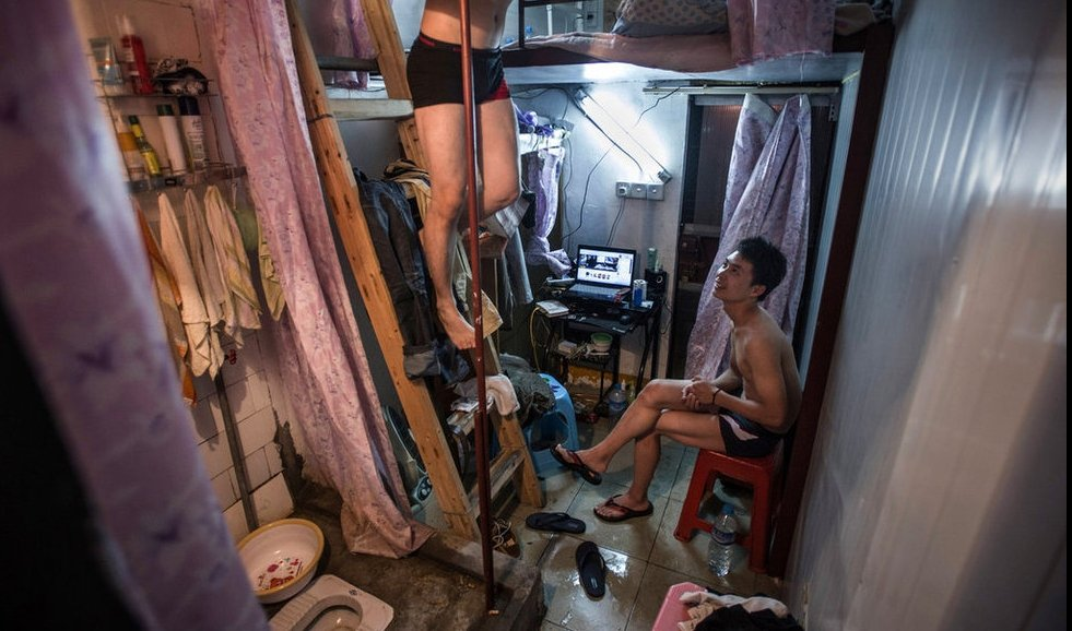 Капсульные квартиры Китая