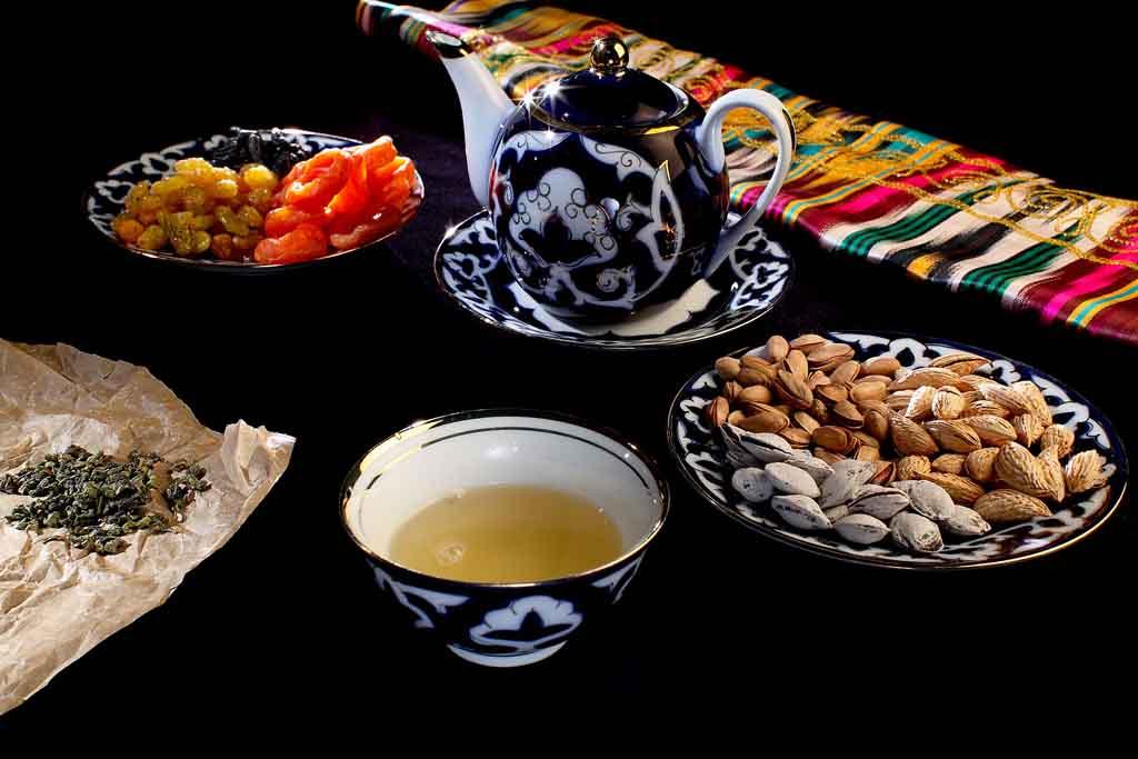 чай в Узбекистане