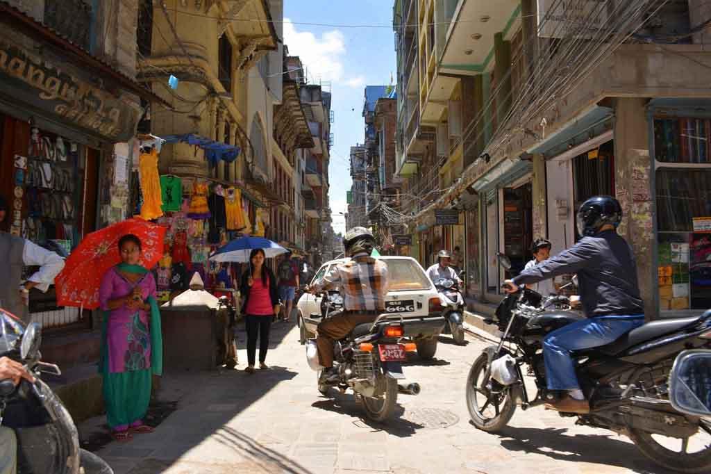 мотобайки в Непале