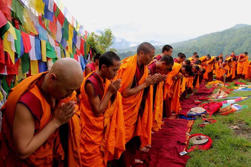 Буддисты  в Непале