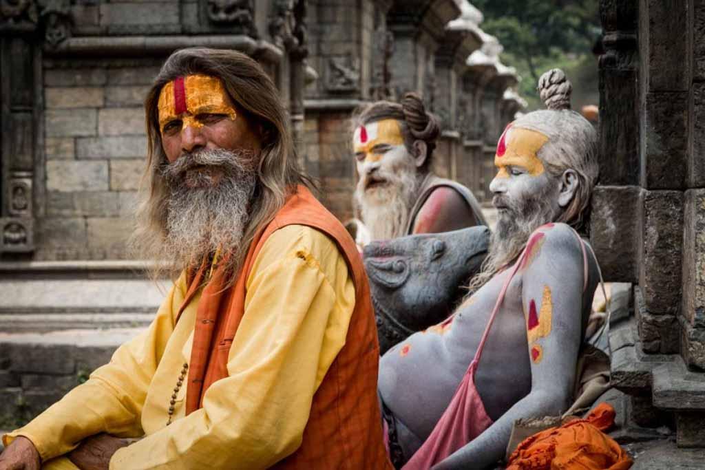 В Непале садху