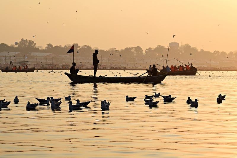 чистая вода в Ганге