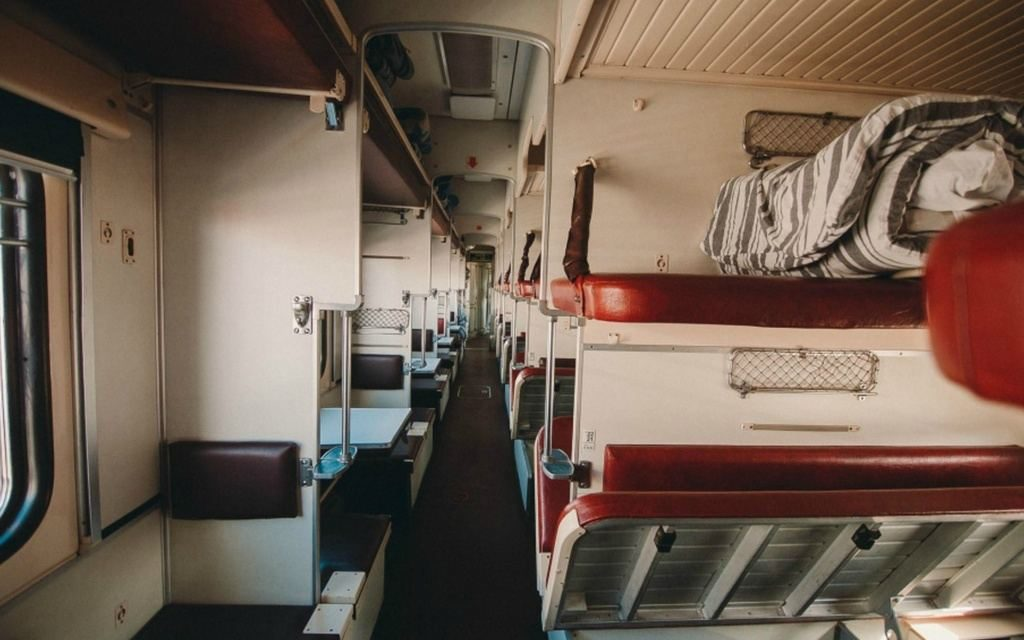 Бдительность в салоне поезда