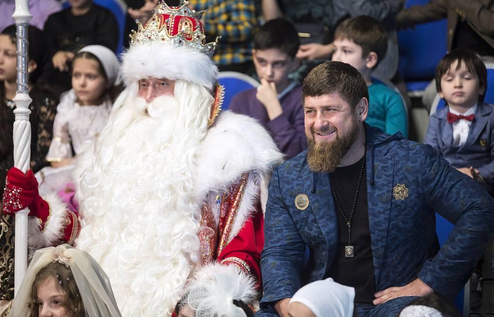 кадыров и дед мороз