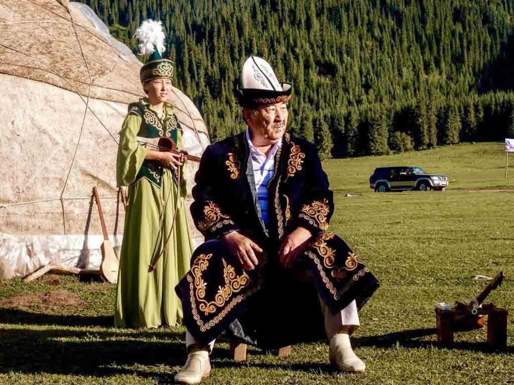 Шапка как показатель статуса киргизов