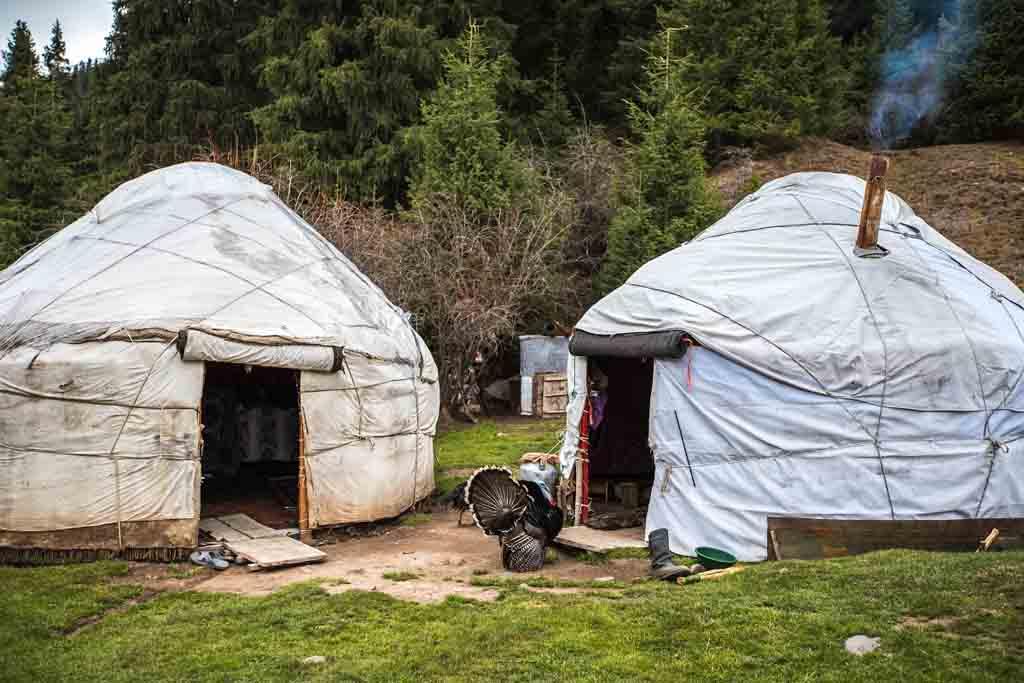 Юрты на все случаи жизни и смерти в Кыргыстане