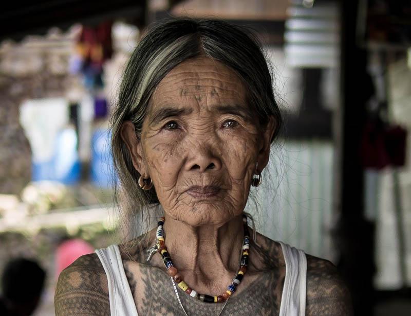 Воинственные татуировки филиппинцев