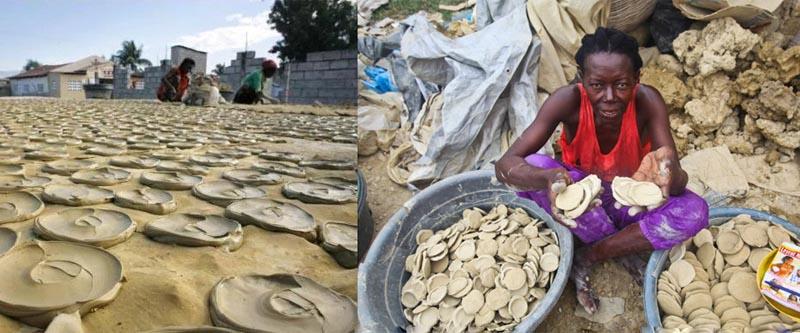 Продавцы грязи Гаити
