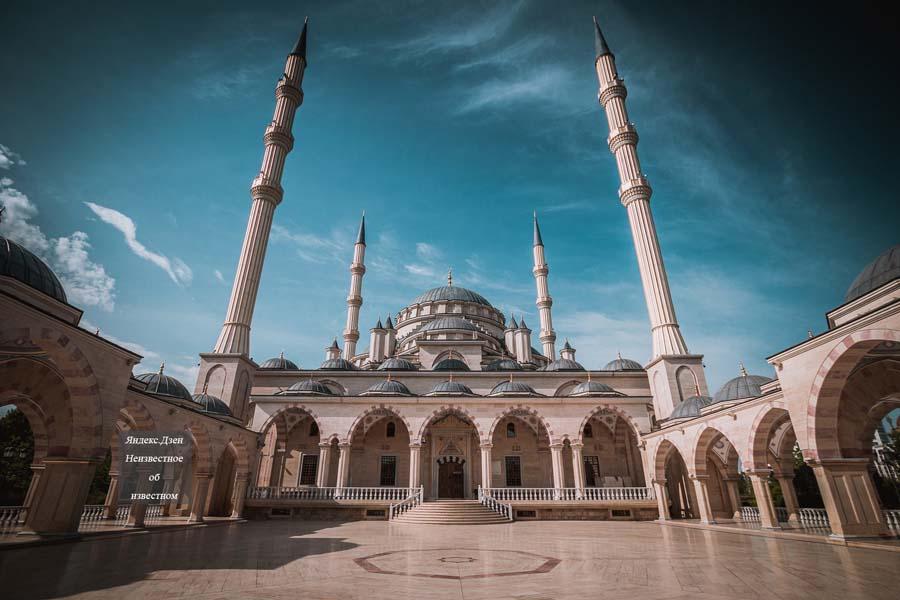 Современные мечети Чечни