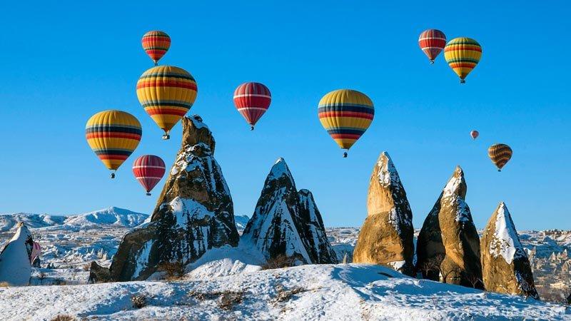 Турция — прекрасное место для встречи Нового года
