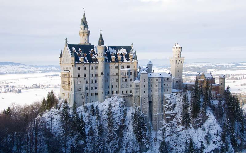 новый год Шотландия сказочные замки