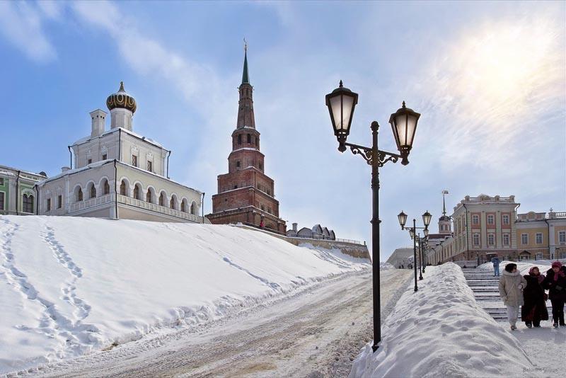 Казань — европейский сервис и зимние забавы
