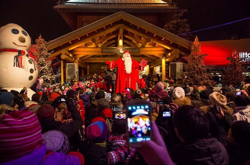 На прием к Санта-Клаусу