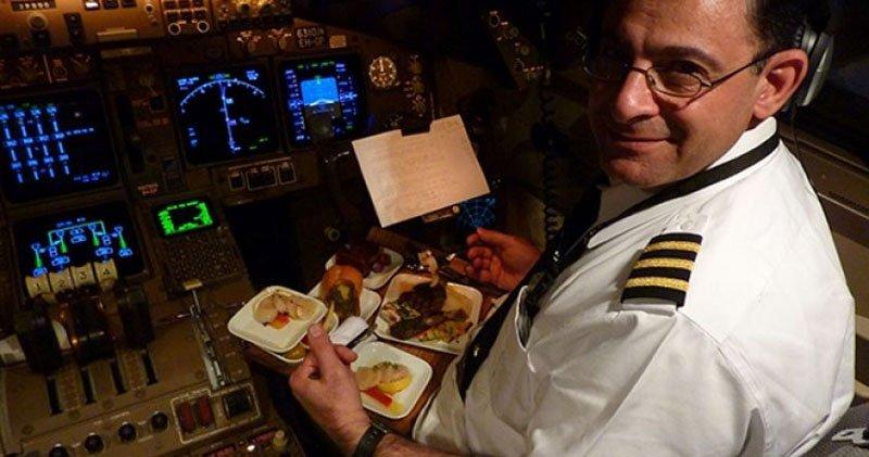 еда для пилотов