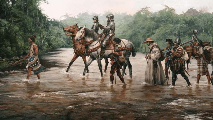 Первооткрыватель и амазонки