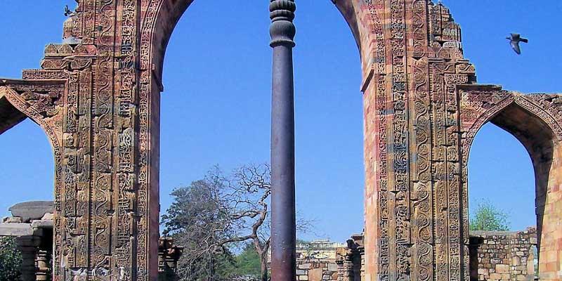 Колонна, которая не ржавеет 1 600 лет
