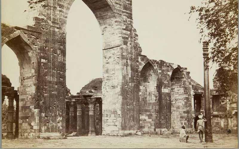 железная колона в Индии 1600 лет без намека на коррозию