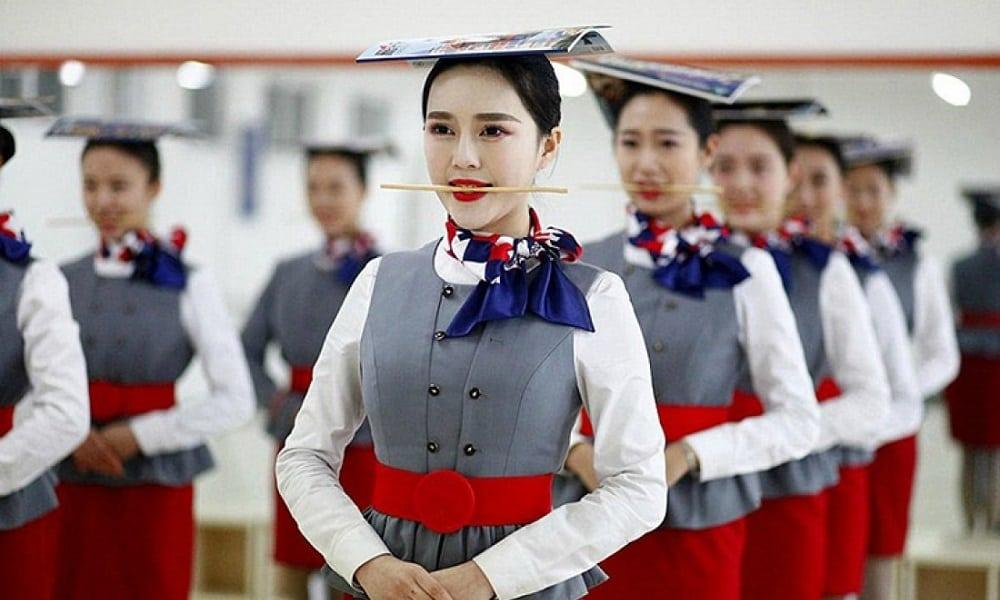 подготовка стюардессы