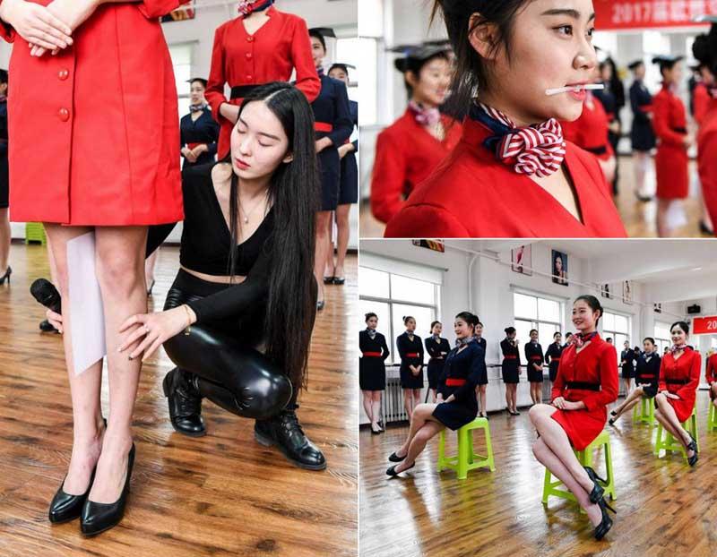 Стюардессой в Китае