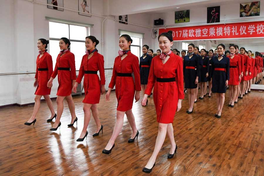 профессия стюардессы в КНР