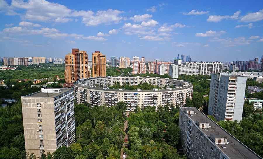 Дома на Нежинской и на Довженко Москва зачем их потроили