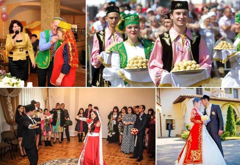 Свадьбы по любви, но с калымом В татарских традициях