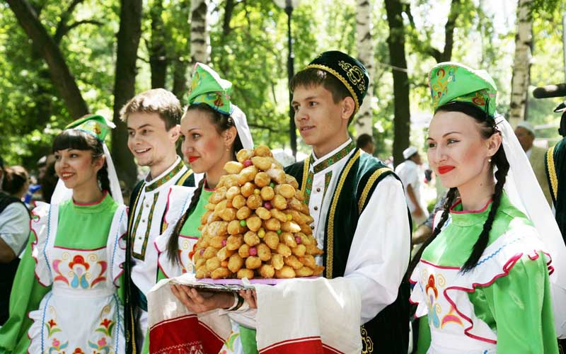 Яркая жизнь Татары
