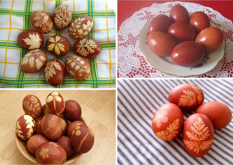 Крашеные яйца татары