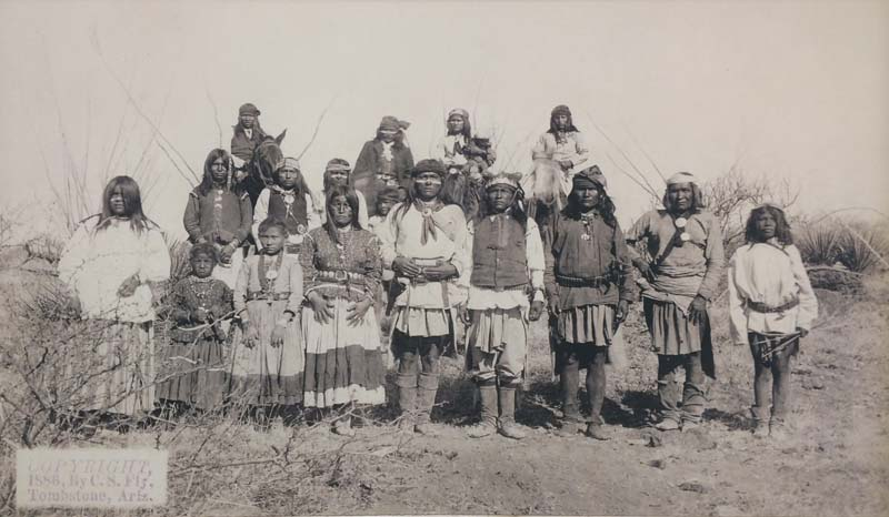 Самые непокорные и дикие индейцы — апачи