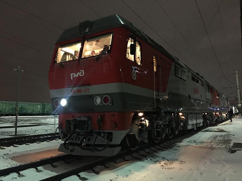 На специальном поезде могут передвигаться только президент и премьер-министр