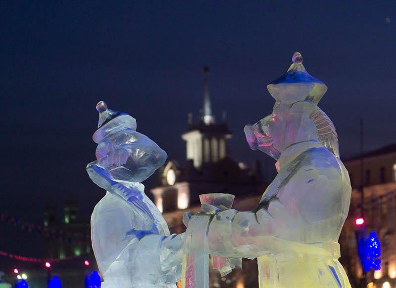 Улан-Удэ Новогоднее убранство 2020