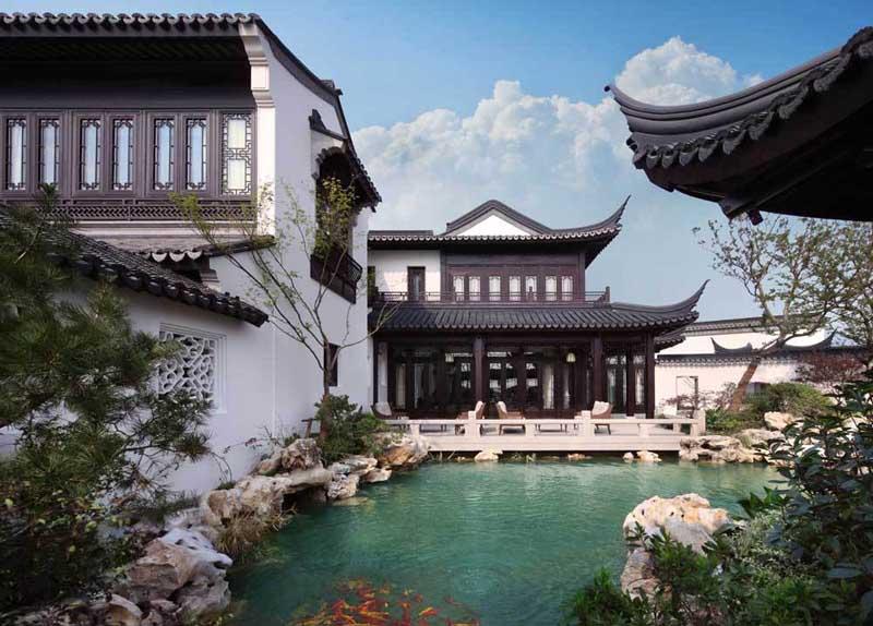 Роскошь внутренних помещений дорогих домой китая