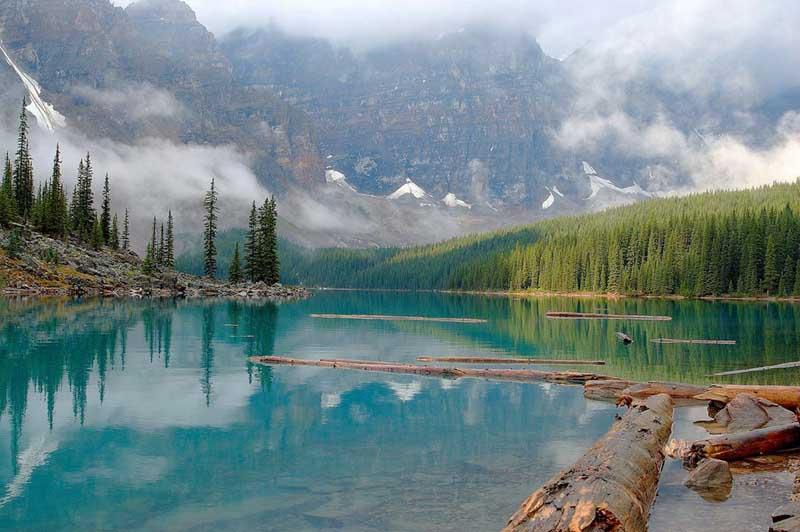 Сколько озер в канаде