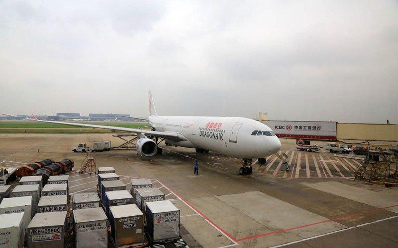 китайские аэропорты Байюнь Гуанчжоу и Пудун