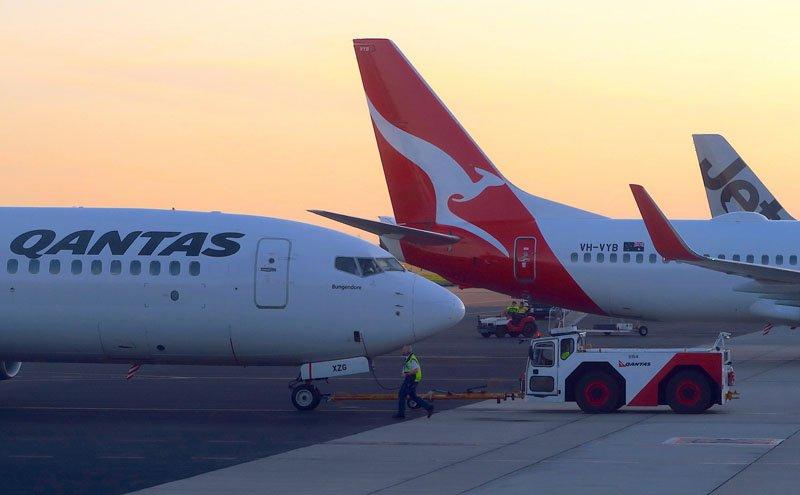 перевозчик из Австралии Qantas