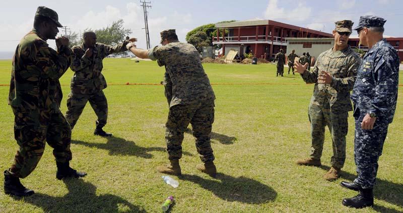 армия Барбадос