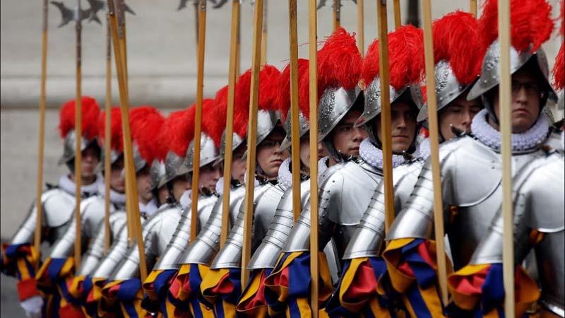 Ватикан армия