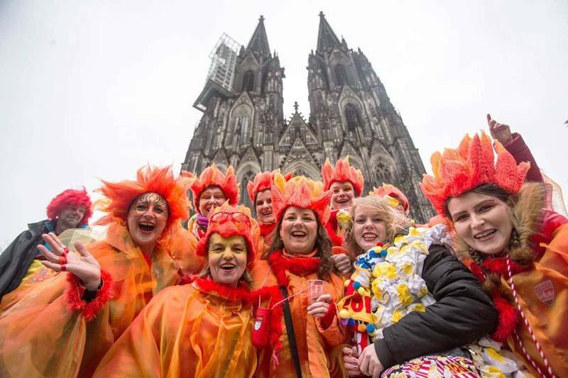 Карнавал в Германии — безобразия в честь проводов зимы
