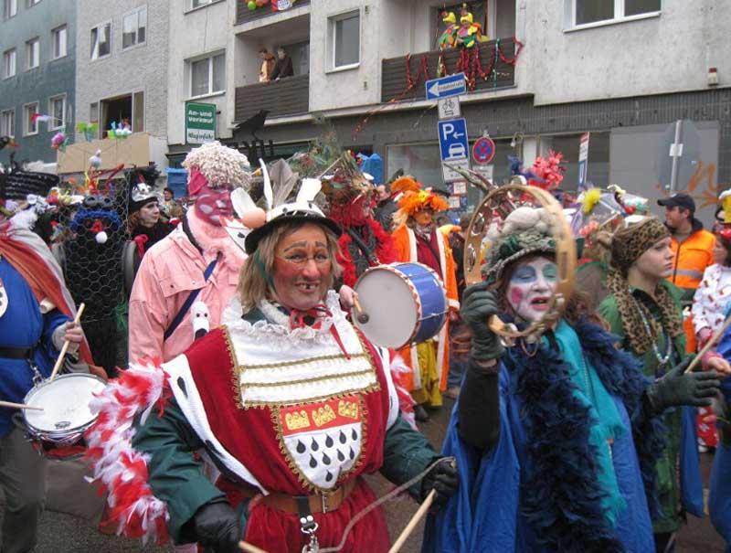 Короли и шуты На Карнавале  в Германии