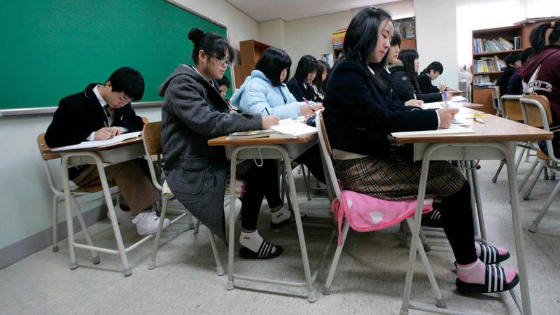 обучение Южная Корея