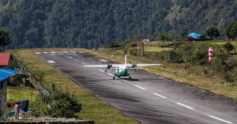 аэропорт в деревеньке Лукла