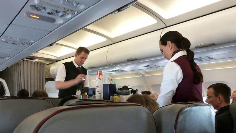 Нечистоплотные пассажиры самолетов